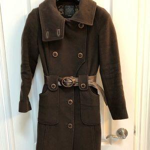 Mackage, Brown wool coat, Size XS